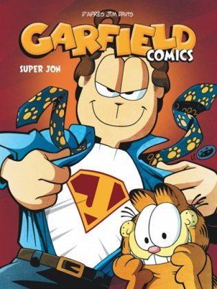 Garfield comics T. 5 - Super Jon