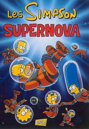 Les Simpson - T. 25 : Supernova